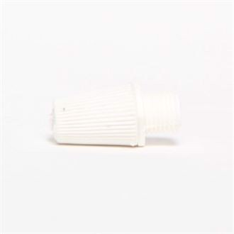White cable strain relief - 10 pcs.