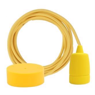 Dark yellow cable 3 m. w/yellow Copenhagen