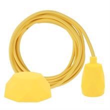 Dark yellow cable 3 m. w/yellow Facet