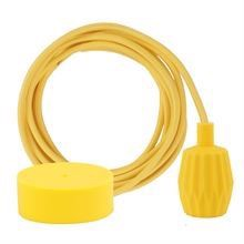 Dark yellow cable 3 m. w/yellow Plisse