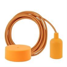 Pale orange cable 3 m. w/sunflower New