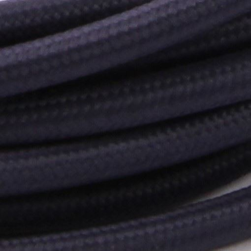 Navy blue cable 3 m.