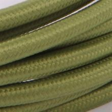 Army green cable 3 m.