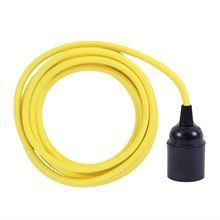 Dusty Yellow cable 3 m. w/bakelite lamp holder