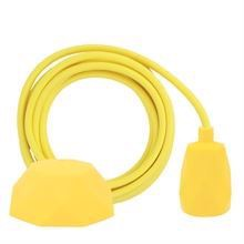 Dusty Yellow cable 3 m. w/yellow Facet