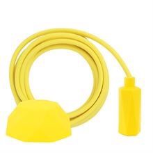 Dusty Yellow cable 3 m. w/yellow Hexa E14