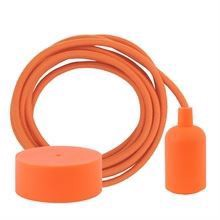 Dusty Orange cable 3 m. w/deep orange New