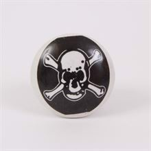 Knob with Jolly Roger - 10 pcs.