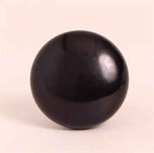 Black polyresin knob