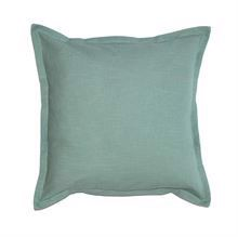 Cushion cover w/flounce 50x50 Olive green