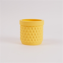 Potts flowerpot Pale yellow