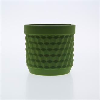 Potts flowerpot Army green