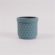 Potts flowerpot Thunder blue