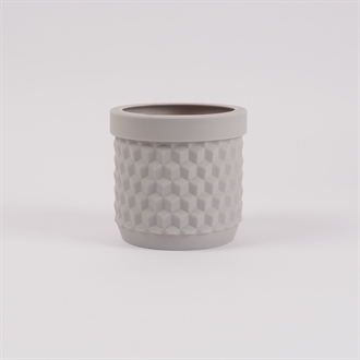 Potts flowerpot Pale grey
