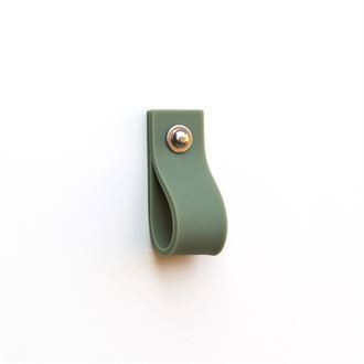 Silicone multi handle Sammy Olive green - 10 pcs.