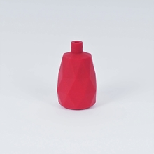Dark red lampholder cover Facet