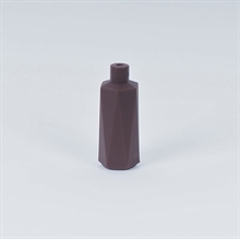 Brown lampholder cover Hexa