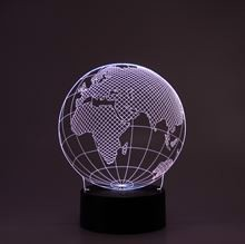 3D LED Night lamp Earth
