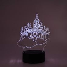 3D LED Night lamp Castle