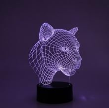 3D LED Night lamp Puma