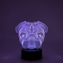 3D LED Night lamp Dog