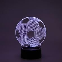 3D LED Night lamp Football