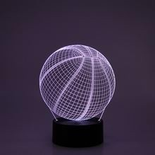3D LED Night lamp Basketball