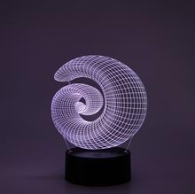 3D LED Night lamp Spiral