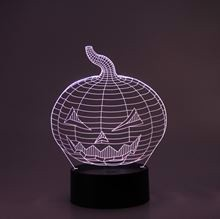 3D LED Night lamp Pumpkin