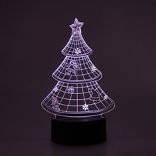 3D LED Night lamp Christmas Tree