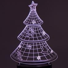 Acrylic plate Christmas Tree