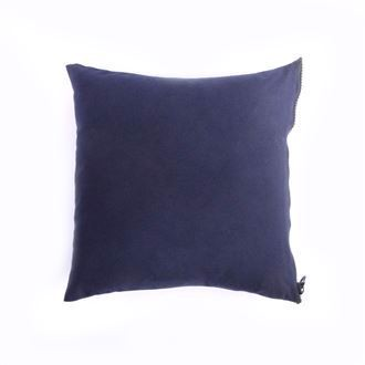 Canvas cushion cover 50x50 Navy blue