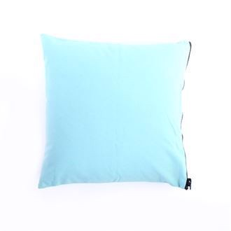Canvas cushion cover 50x50 Pale turquoise
