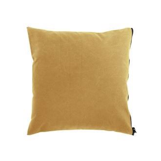 Canvas cushion cover 50x50 Washed Curry