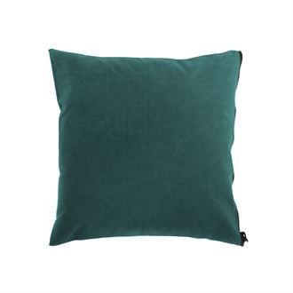 Canvas cushion cover 50x50 Washed Petrol