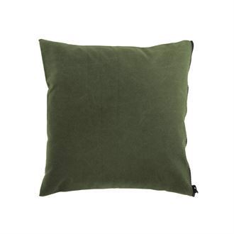Canvas cushion cover 50x50 Washed Olive green