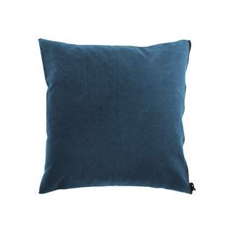 Canvas cushion cover 50x50 Washed Sky blue