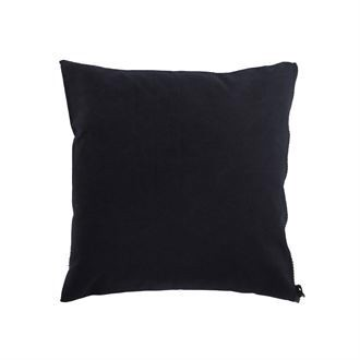 Canvas cushion cover 50x50 Washed Black
